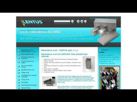 www.lentus-ocel.cz