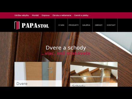 www.papastol.sk