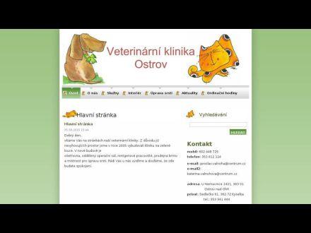 www.veterinaostrov.cz