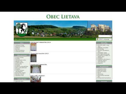 www.lietava.info/