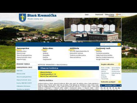www.starakremnicka.sk/obecna-kniznica.phtml
