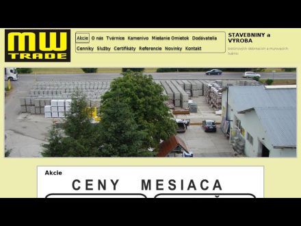 www.mwtrade.sk