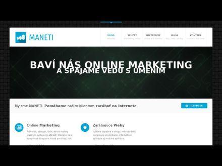 www.maneti.sk