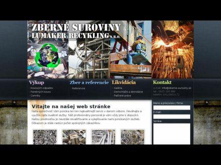 www.zberne-suroviny.sk