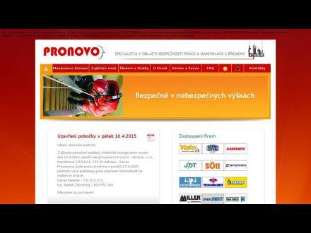 www.pronovo-morava.cz