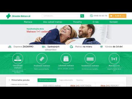 www.zdravotne-matrace.sk/