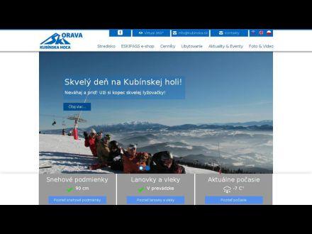 www.skikubinskahola.sk