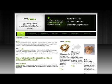 www.stahovanie-ttrans.sk