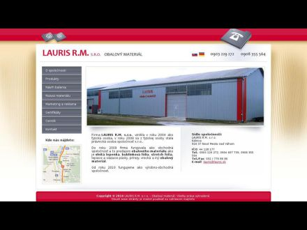 www.lauris.sk