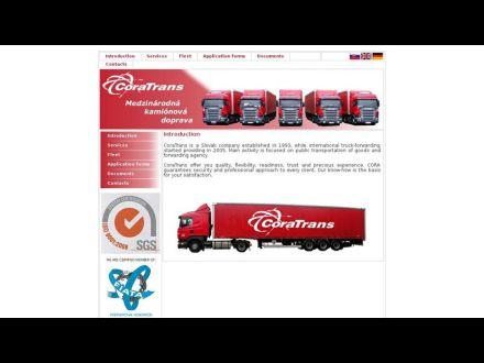www.coratrans.sk