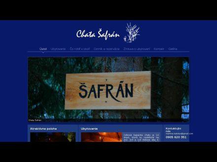 www.chatasafran.sk