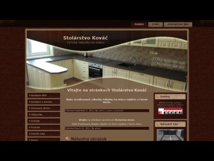 www.stolarstvokovac.sk