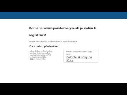 www.poistenie.yw.sk