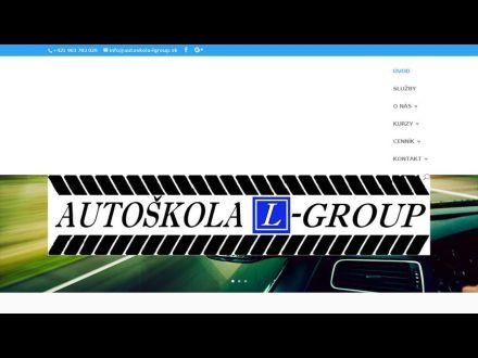 www.autoskola-lgroup.sk
