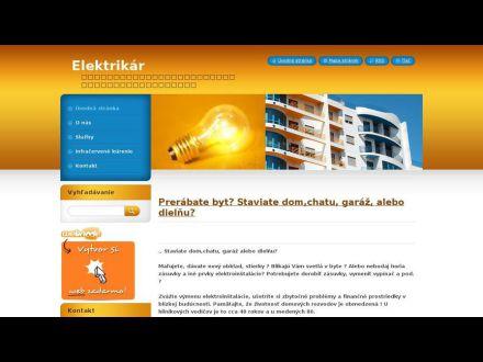 www.elektrikar8.webnode.sk