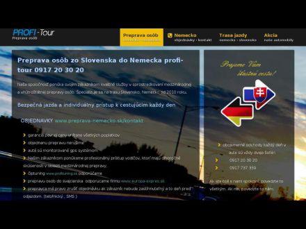 www.profi-tour.sk