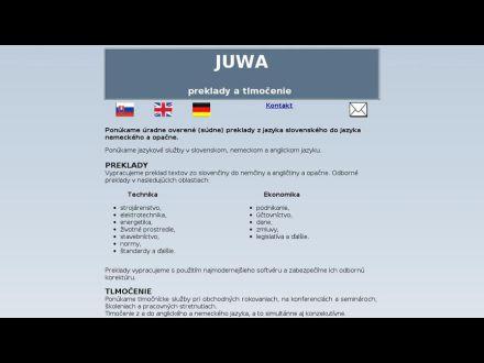 www.juwa.sk