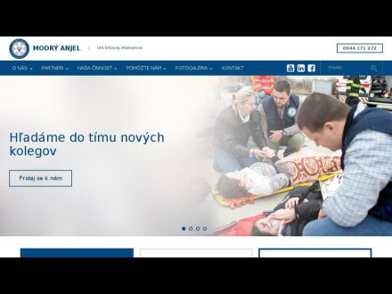 www.modryanjel.sk