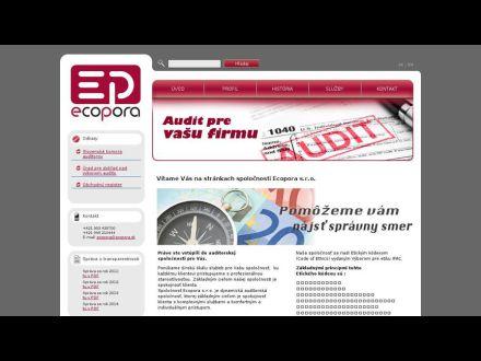 www.ecopora.sk