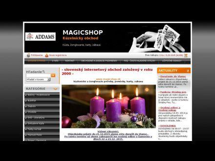 www.magicshop.sk
