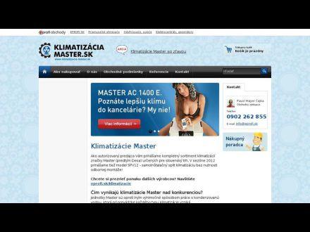 www.klimatizacia-master.sk