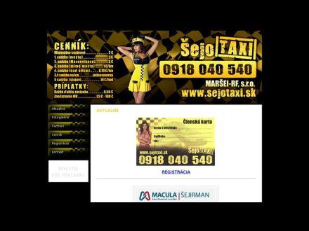 www.sejotaxi.sk