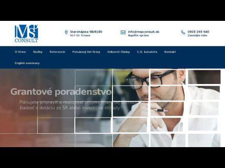 www.mspconsult.sk