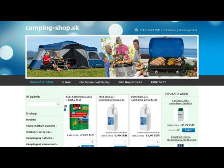 www.camping-shop.sk