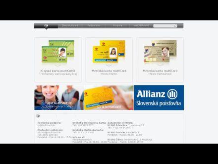 www.multicard.sk