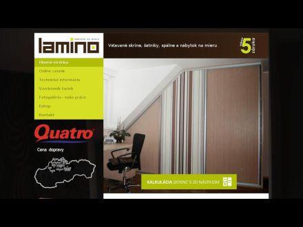 www.lamino.sk