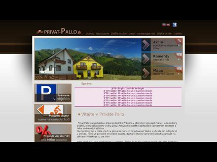 www.privat-pallo.sk