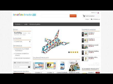 www.kreativnehracky.eu