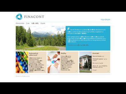 www.finacont.sk