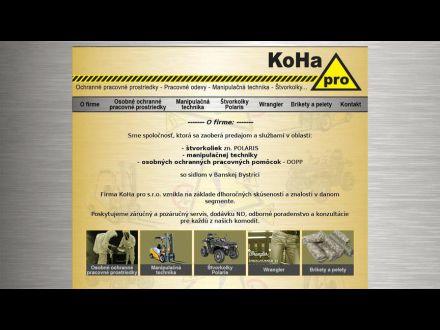 www.kohapro.sk