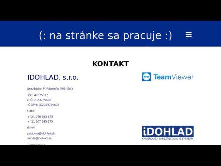 www.idohlad.sk