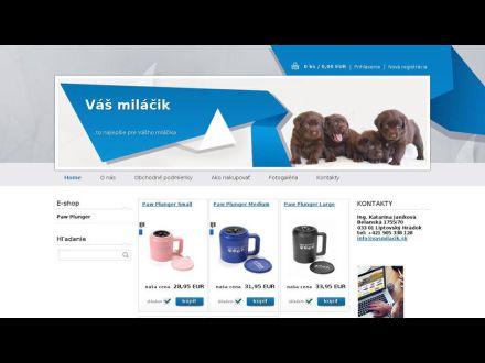 www.vasmilacik.sk