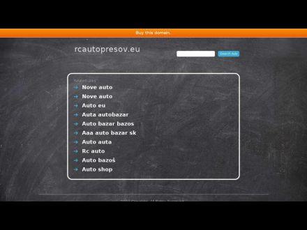 www.rcautopresov.eu