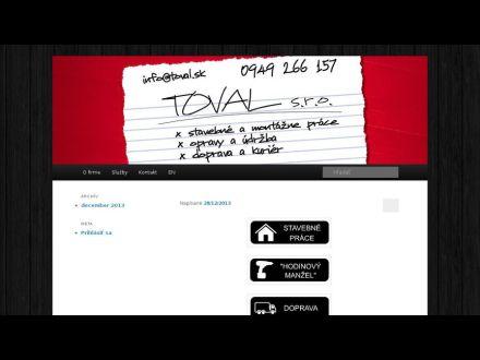 www.toval.sk