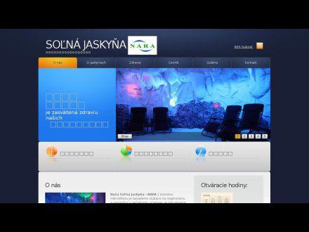 www.solnajaskyna-nara.sk