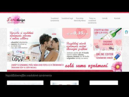 www.svadba-oznamenia.sk