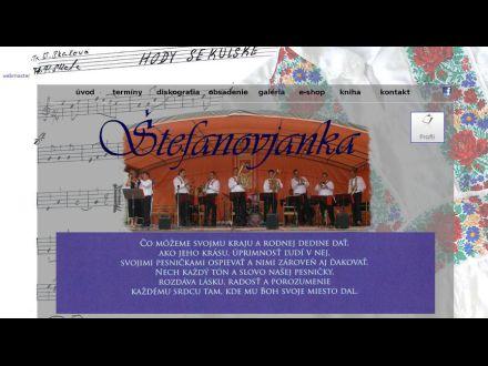 www.stefanovjanka.host.sk