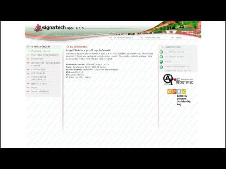 www.signatech.sk