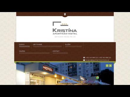 www.apartman-hotel-kristina.sk