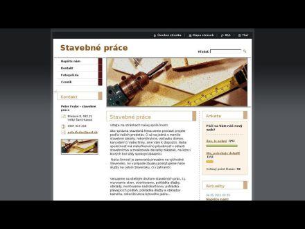 www.stavebnepracefedor.webnode.sk