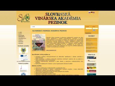 www.svapezinok.sk