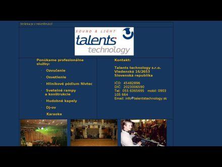 www.talentstechnology.sk