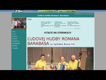 www.ludovahudbaromanabarabasa.weblahko.sk