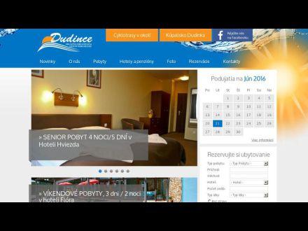www.dudince.sk
