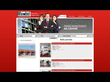 www.maxbel.sk