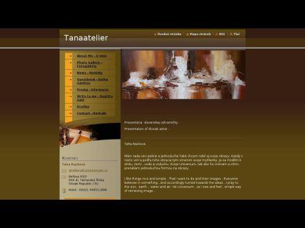 www.tanaatelier.webnode.sk